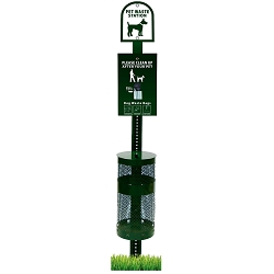 HOUNDSCOOP® Pet Waste Management Header Station Kit
